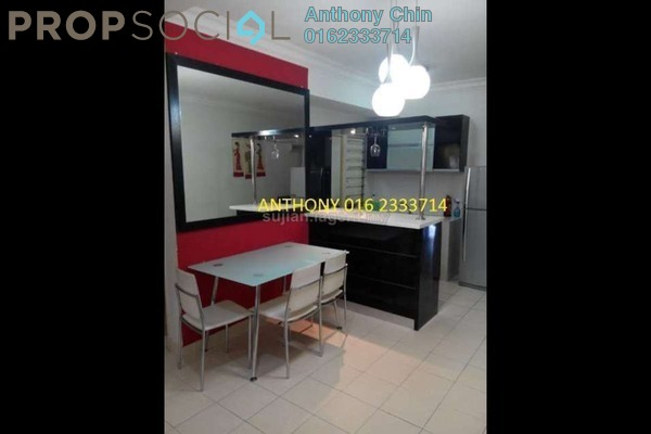 For Sale Apartment at Taman Bukit Serdang, Seri Kembangan Freehold Fully Furnished 3R/2B 333k