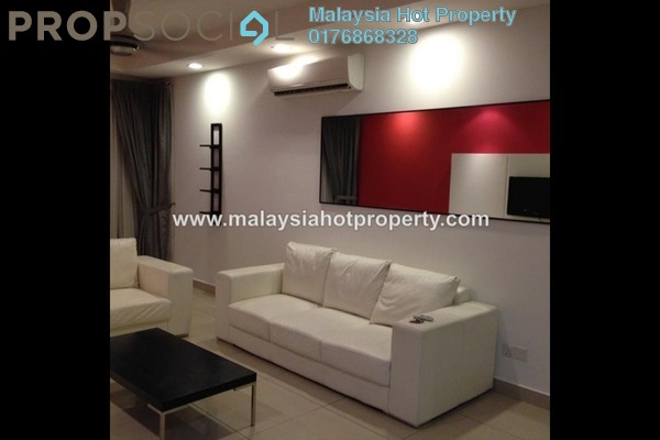 For Rent Condominium at Aston Kiara 3, Mont Kiara Freehold Fully Furnished 3R/3B 2.5k