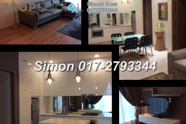 For Rent Condominium at Soho Suites, KLCC Freehold Fully Furnished 1R/1B 3.2k