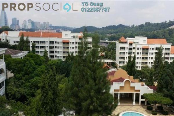 For Sale Condominium at Tivoli Villas, Bangsar Freehold Fully Furnished 2R/1B 750k