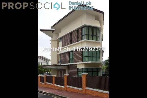 For Sale Semi-Detached at Pearl Villas, Petaling Jaya Freehold Semi Furnished 6R/7B 6.5m