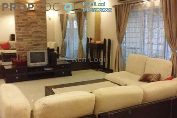 For Sale Terrace at Bukit Prima Pelangi, Segambut Freehold Fully Furnished 4R/4B 1.2m