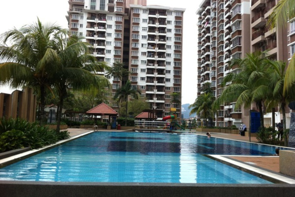 For Sale Condominium at Ampang Boulevard, Ampang Leasehold Fully Furnished 3R/2B 510.0千