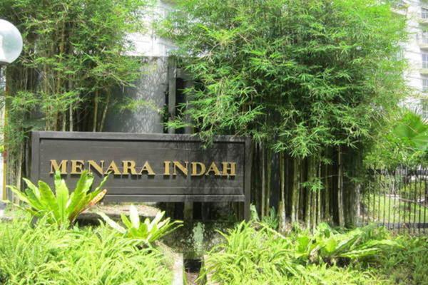 For Rent Condominium at Menara Indah, Ampang Leasehold Semi Furnished 2R/2B 1.7k