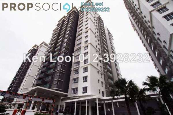 For Rent Condominium at Villa Orkid, Segambut Freehold Semi Furnished 3R/3B 2.2k