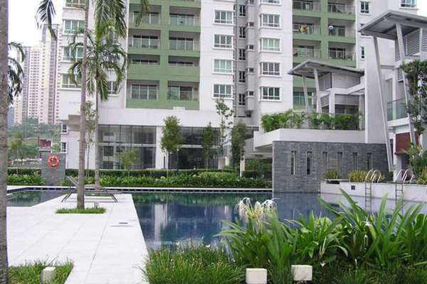 For Rent Condominium at Kiara Designer Suites, Mont Kiara Freehold Fully Furnished 3R/2B 2.8k