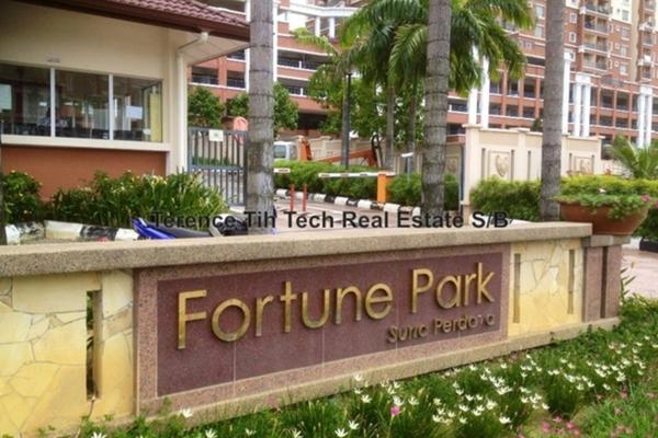 For Sale Condominium at Fortune Park, Seri Kembangan Leasehold Semi Furnished 3R/2B 520k
