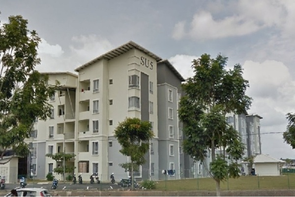 For Sale Apartment at Taman Tasik Utama, Ayer Keroh Leasehold Semi Furnished 3R/2B 170k