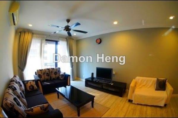 For Rent Condominium at Casa Kiara I, Mont Kiara Freehold Fully Furnished 3R/2B 2.6k