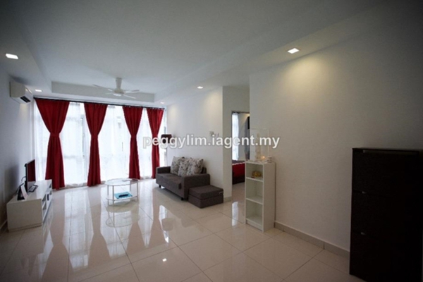 For Sale Serviced Residence at Central Residence, Sungai Besi Freehold Semi Furnished 2R/2B 480k