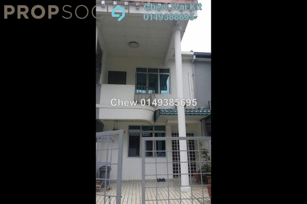For Rent Terrace at Taman Bukit Desa, Kepong Freehold Semi Furnished 4R/3B 1.2k