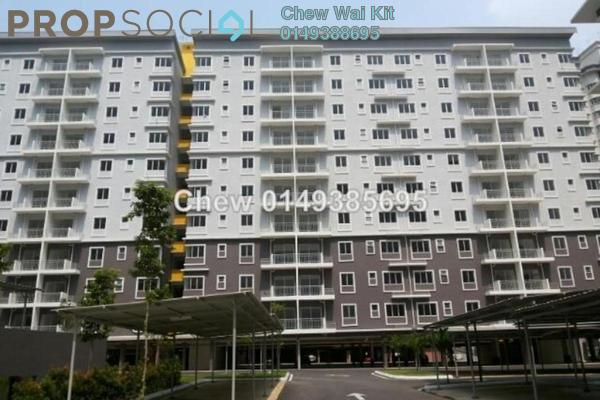 For Rent Apartment at Pelangi Heights, Klang Freehold Semi Furnished 3R/2B 900translationmissing:en.pricing.unit