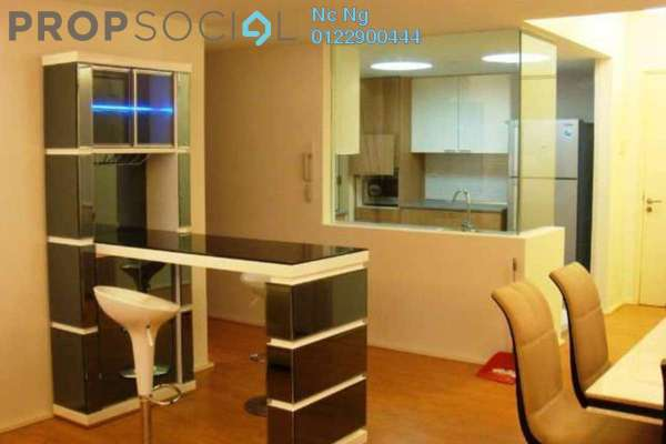 For Rent Condominium at i-Zen Kiara I, Mont Kiara Freehold Fully Furnished 3R/3B 4.6k