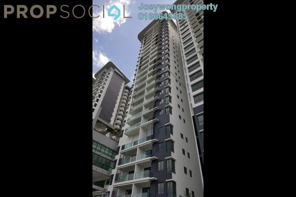 For Rent Condominium at KL Palace Court, Kuchai Lama Leasehold Semi Furnished 2R/2B 1.4k