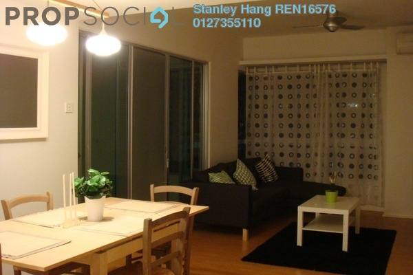For Sale Condominium at i-Zen Kiara I, Mont Kiara Freehold Fully Furnished 2R/2B 820k