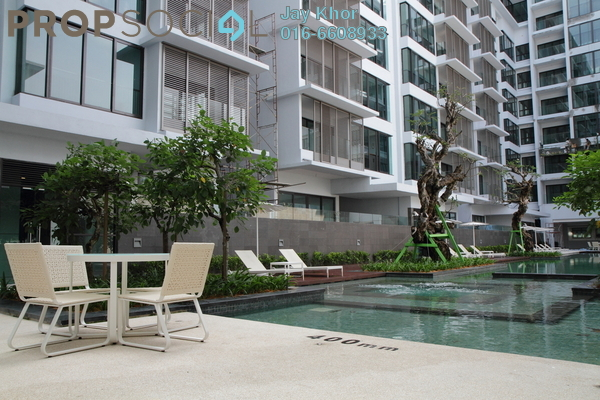 For Rent Condominium at Sastra U-Thant, Ampang Hilir Freehold  4R/5B 6.8k