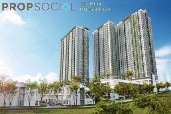 For Sale Condominium at Scenaria, Segambut Leasehold  3R/3B 716k