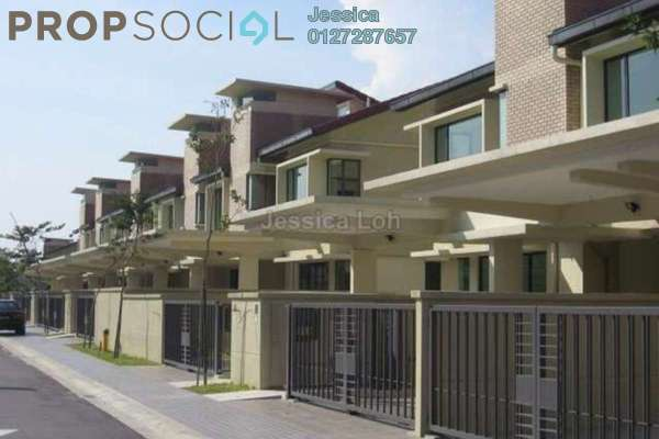 For Sale Terrace at SouthLake, Desa ParkCity Freehold Semi Furnished 3R/4B 1.85m