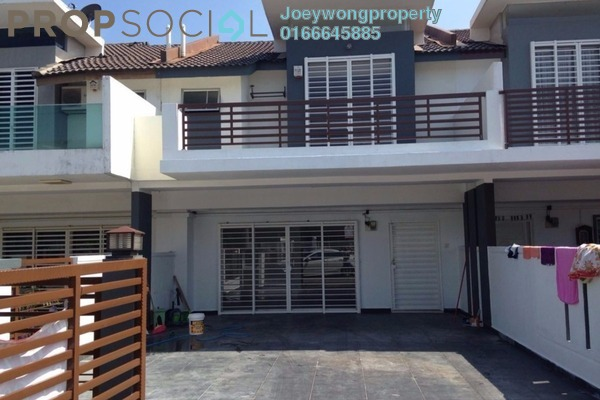 For Sale Terrace at Phase 3E, Taman Putra Prima Freehold Semi Furnished 4R/3B 698k