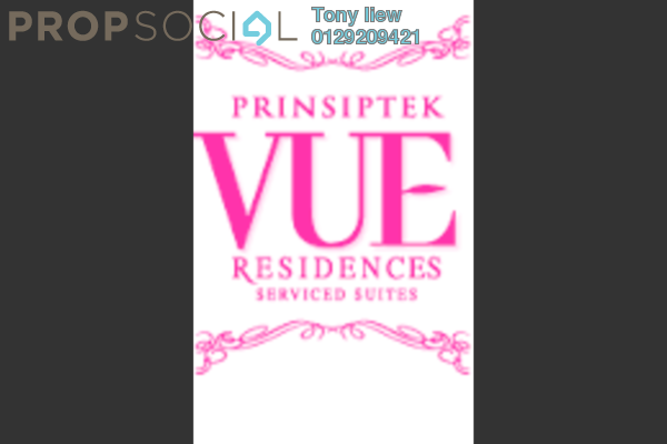 For Rent Serviced Residence at Vue Residences, Titiwangsa Freehold Fully Furnished 1R/1B 1.9k
