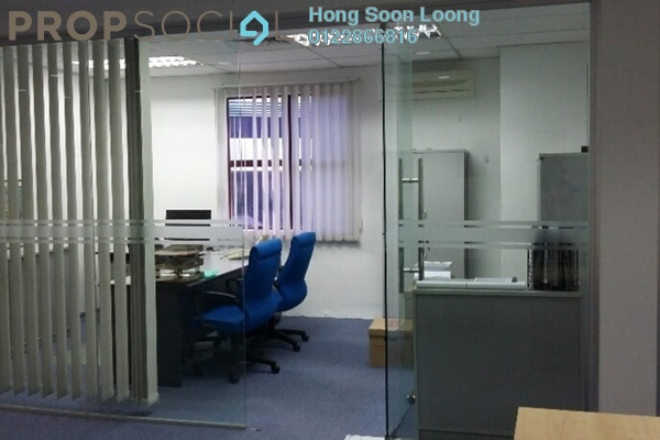 For Rent Office at Section 13, Petaling Jaya Freehold Fully Furnished 0R/2B 8k