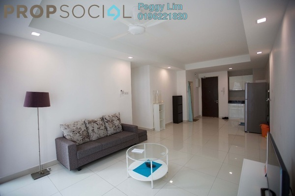 For Sale Condominium at Central Residence, Sungai Besi Freehold Semi Furnished 2R/2B 480k