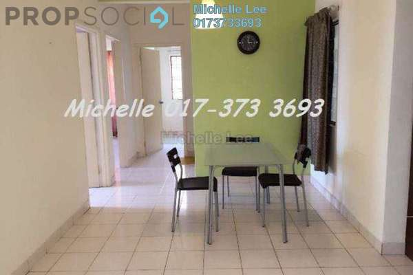 For Rent Apartment at Casa Puteri, Bandar Puteri Puchong Freehold Fully Furnished 3R/2B 1.5k