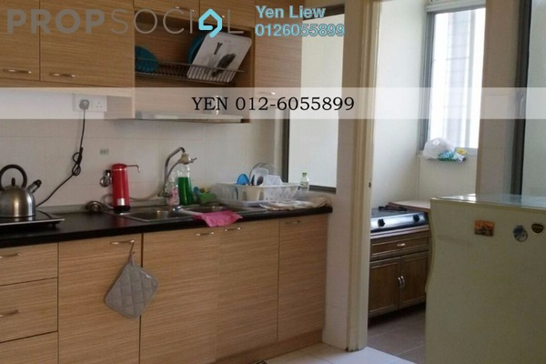 For Rent Condominium at 1 Petaling, Sungai Besi Leasehold Fully Furnished 3R/2B 1.6k