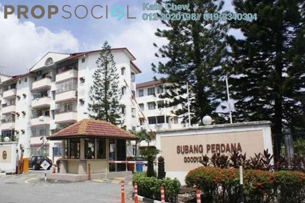 For Sale Condominium at Goodyear Court 1, UEP Subang Jaya Freehold  3R/2B 405k