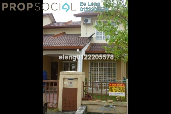 For Sale Terrace at Bandar Bukit Raja, Klang Freehold Unfurnished 3R/2B 450k