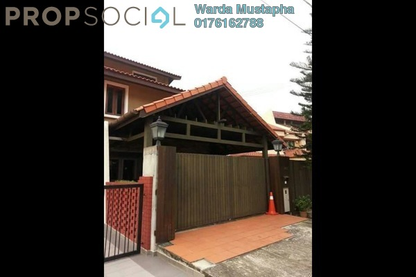 For Sale Terrace at Taman Desa Aman, Cheras Freehold Semi Furnished 4R/3B 1.7m
