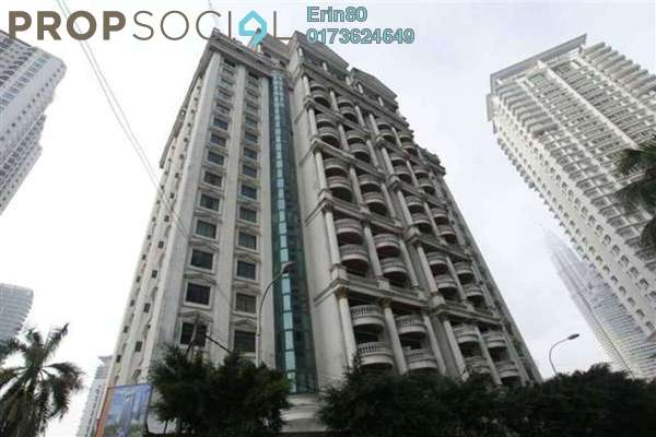 For Rent Condominium at Corinthian, KLCC Freehold Fully Furnished 3R/3B 5k