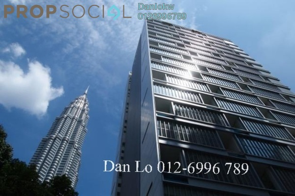 For Rent Condominium at One KL, KLCC Freehold Semi Furnished 5R/5B 15k