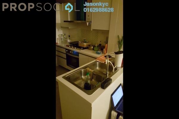 For Rent Apartment at Solaris Dutamas, Dutamas Freehold Semi Furnished 1R/1B 2.5k