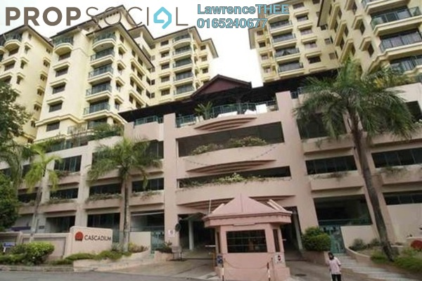 For Rent Condominium at Cascadium, Bangsar Freehold Fully Furnished 2R/2B 3.8千