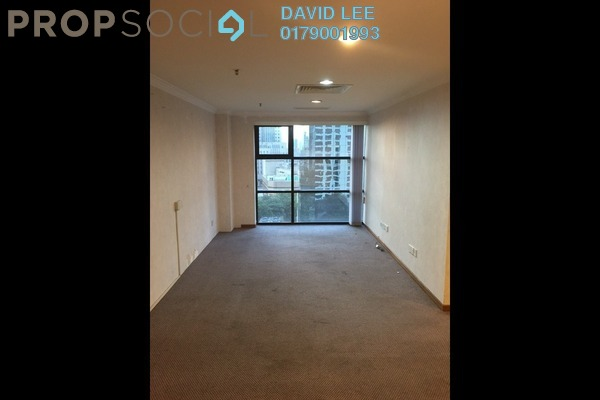 For Rent Office at Plaza 138, KLCC Freehold Semi Furnished 1R/1B 2.5k