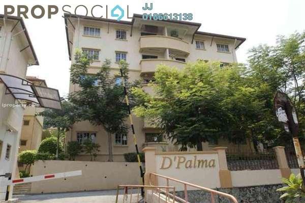 For Rent Condominium at D'Palma Apartment, Pusat Bandar Puchong Freehold Fully Furnished 3R/2B 1.3k