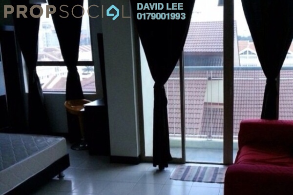 For Sale SoHo/Studio at Ritze Perdana 1, Damansara Perdana Leasehold Fully Furnished 1R/1B 335k