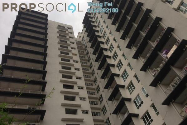 For Rent Condominium at Seri Puteri, Bandar Sri Permaisuri Leasehold Semi Furnished 3R/3B 1.6k