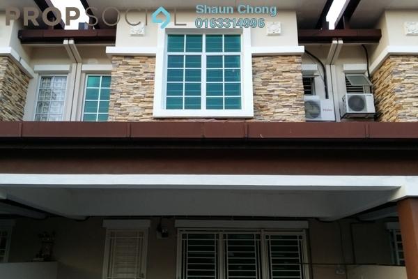 For Rent Terrace at Cheras Vista, Bandar Mahkota Cheras Freehold Semi Furnished 4R/3B 1.65k