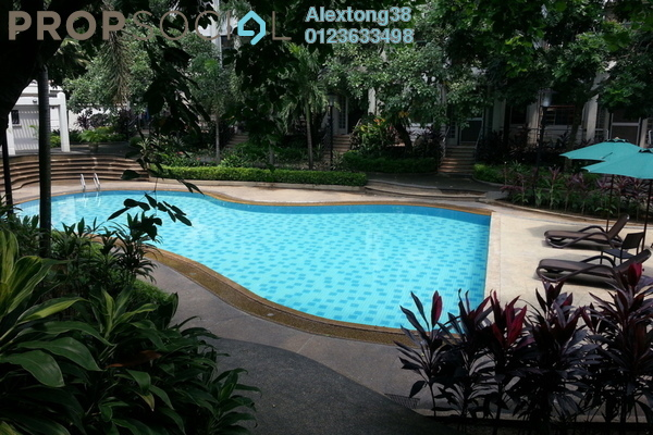 For Sale Townhouse at Anjung Damai, KLCC Freehold Fully Furnished 3R/4B 1.8m