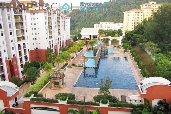 For Rent Condominium at Ketumbar Hill, Cheras Freehold Semi Furnished 3R/2B 1.4k