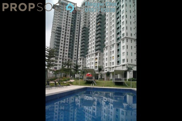 For Rent Condominium at Metropolitan Square, Damansara Perdana Leasehold Semi Furnished 1R/1B 1.5k