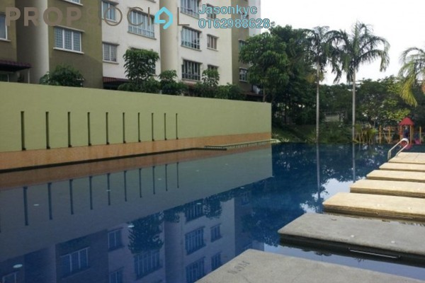 For Rent Condominium at Green Avenue, Bukit Jalil Freehold Semi Furnished 3R/2B 1.4k