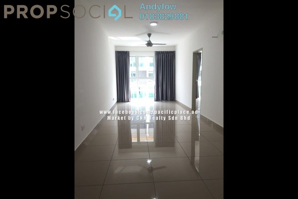For Rent Serviced Residence at Pacific Place, Ara Damansara Leasehold Semi Furnished 3R/2B 1.8k