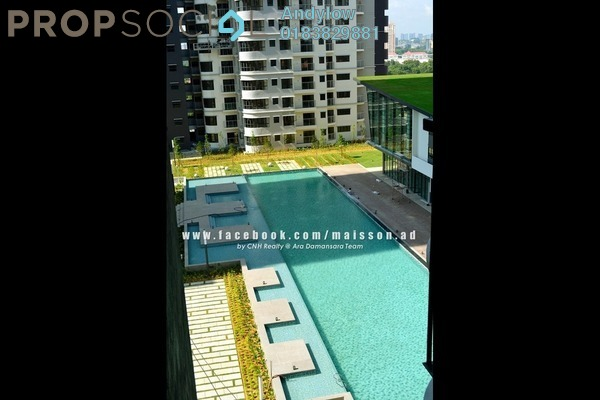 For Sale Condominium at Maisson, Ara Damansara Freehold Semi Furnished 3R/2B 895k