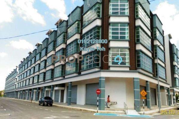 For Rent Shop at Mega Square, Muar Freehold Unfurnished 0R/0B 6k