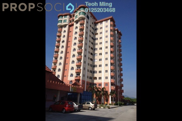 For Rent Condominium at Ipoh Kiara Heights, Ipoh Freehold Fully Furnished 3R/1B 1.6k