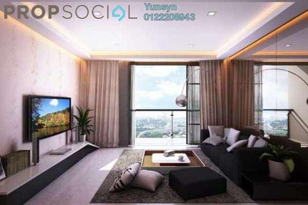For Rent Serviced Residence at Glomac Centro, Bandar Utama Leasehold Semi Furnished 3R/2B 2.2Ribu