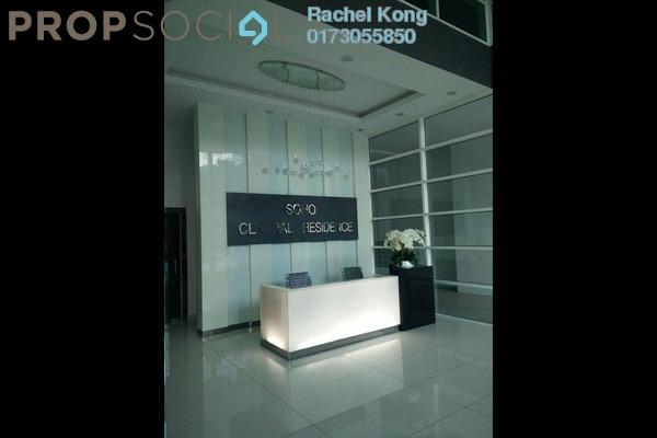 For Rent SoHo/Studio at Central SOHO @ Central Residence, Sungai Besi Freehold Fully Furnished 2R/1B 1.7k